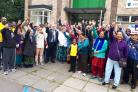 Interfaith walk shows town solidarity