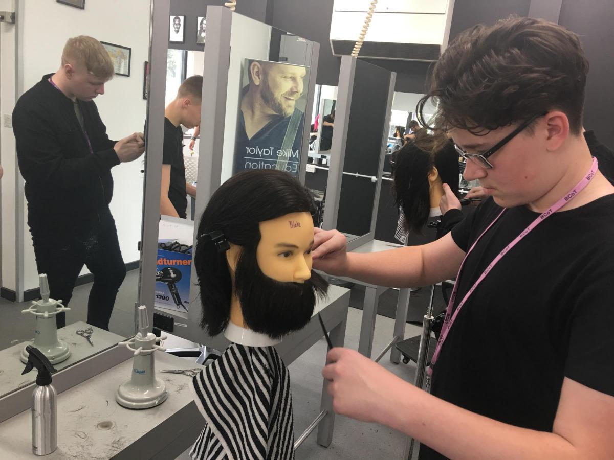 Barbering College Opens Its Doors At Bcot Basingstoke Gazette