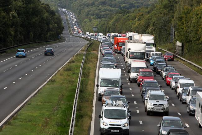 Motorists facing half-hour delays as fans head to BoomTown Fair
