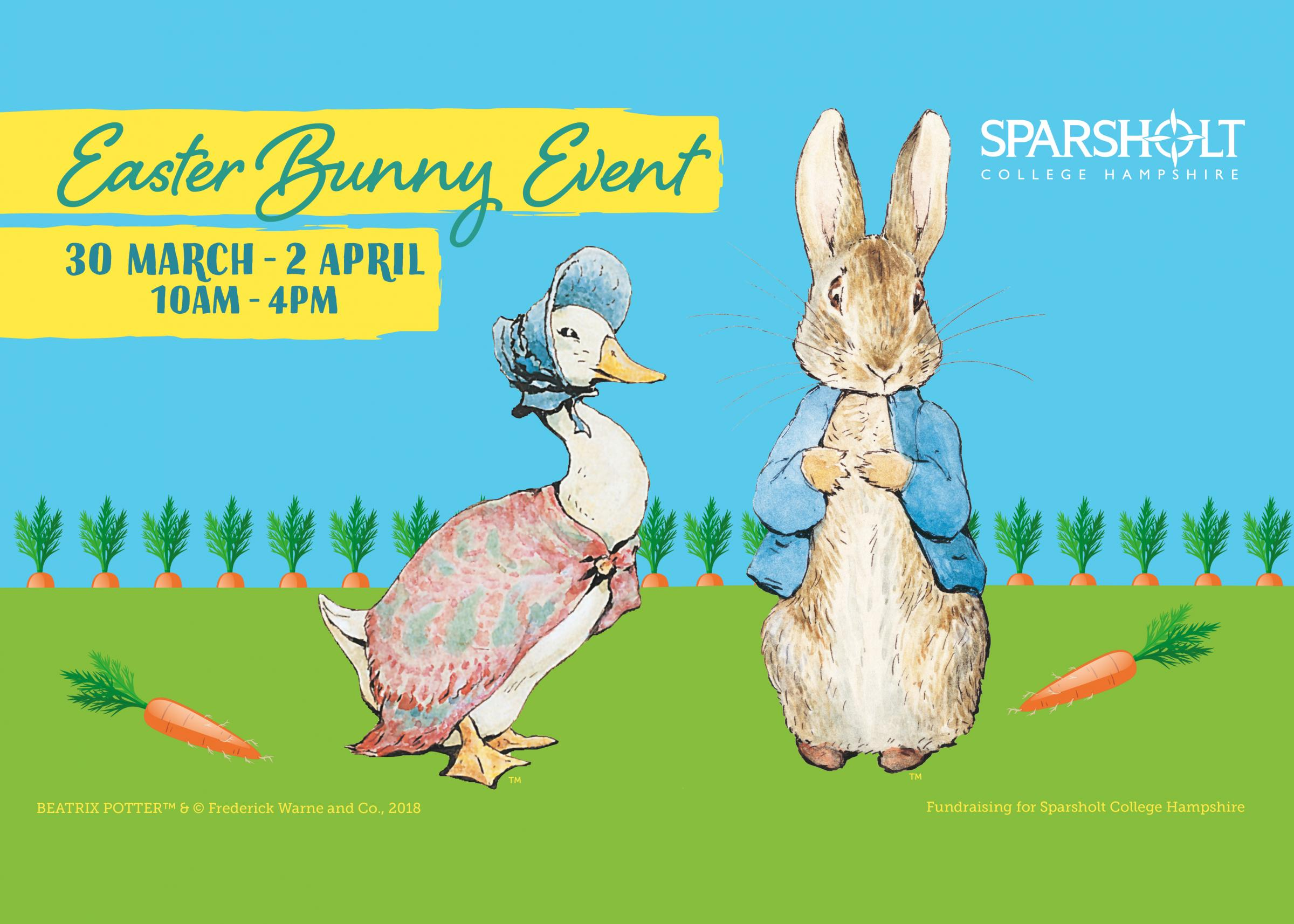 Easter Bunny Event - Sparsholt College Hampshire