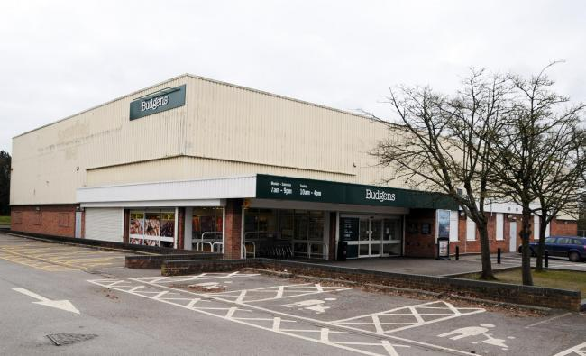The former Budgen's store at the time of its closure