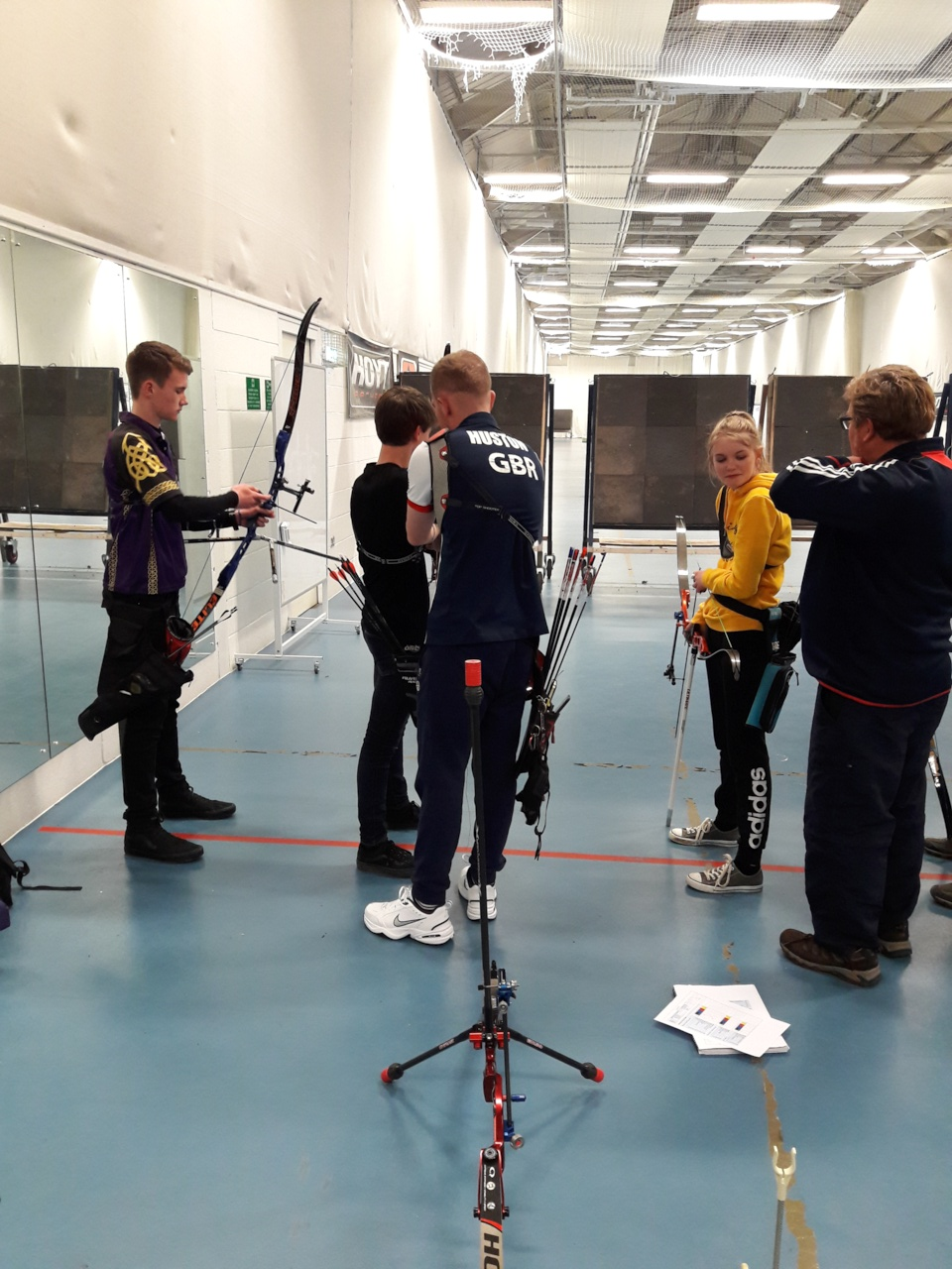Archers on target for Olympic coaching