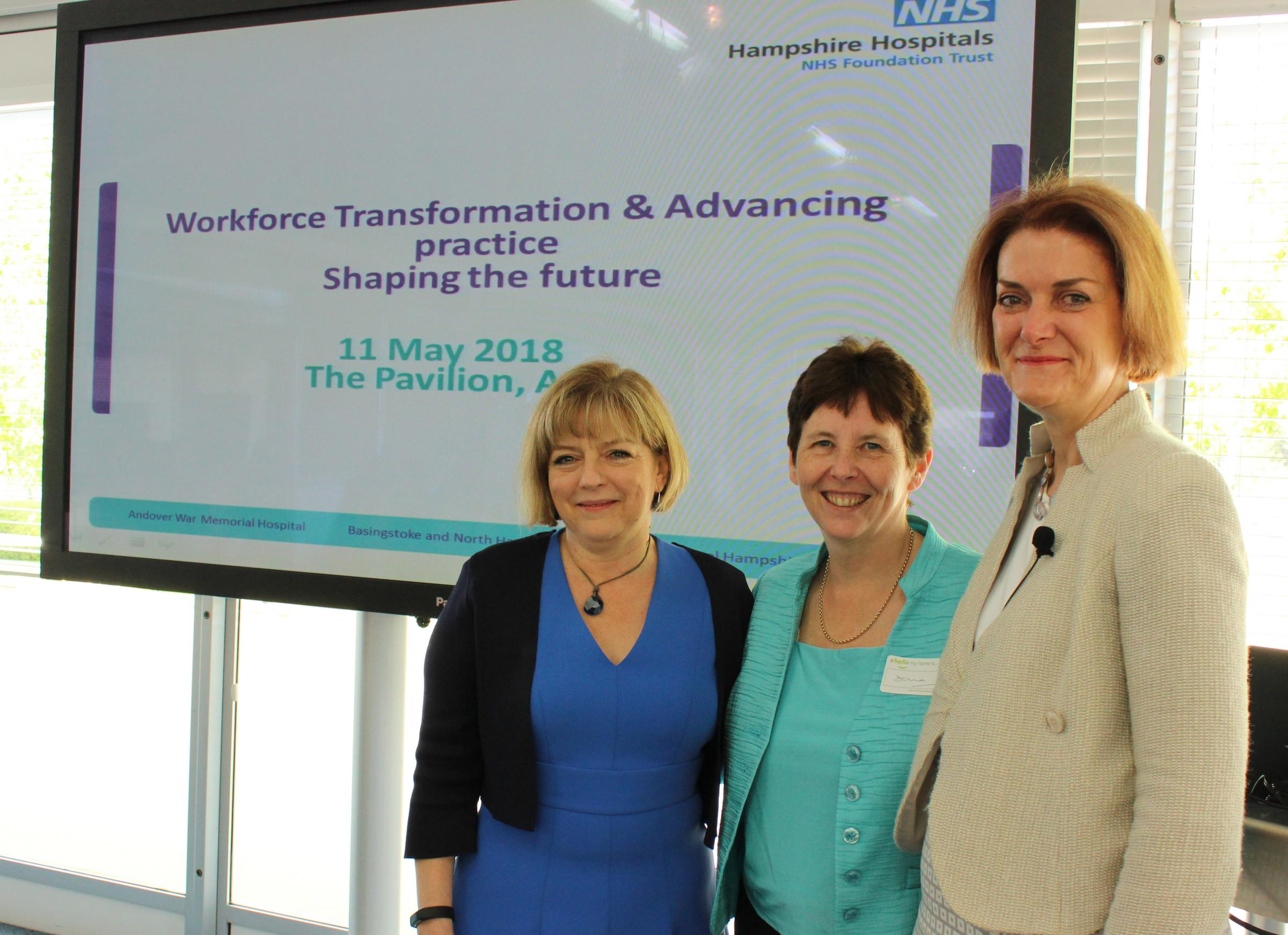 Staff hear about future of health practice at conference