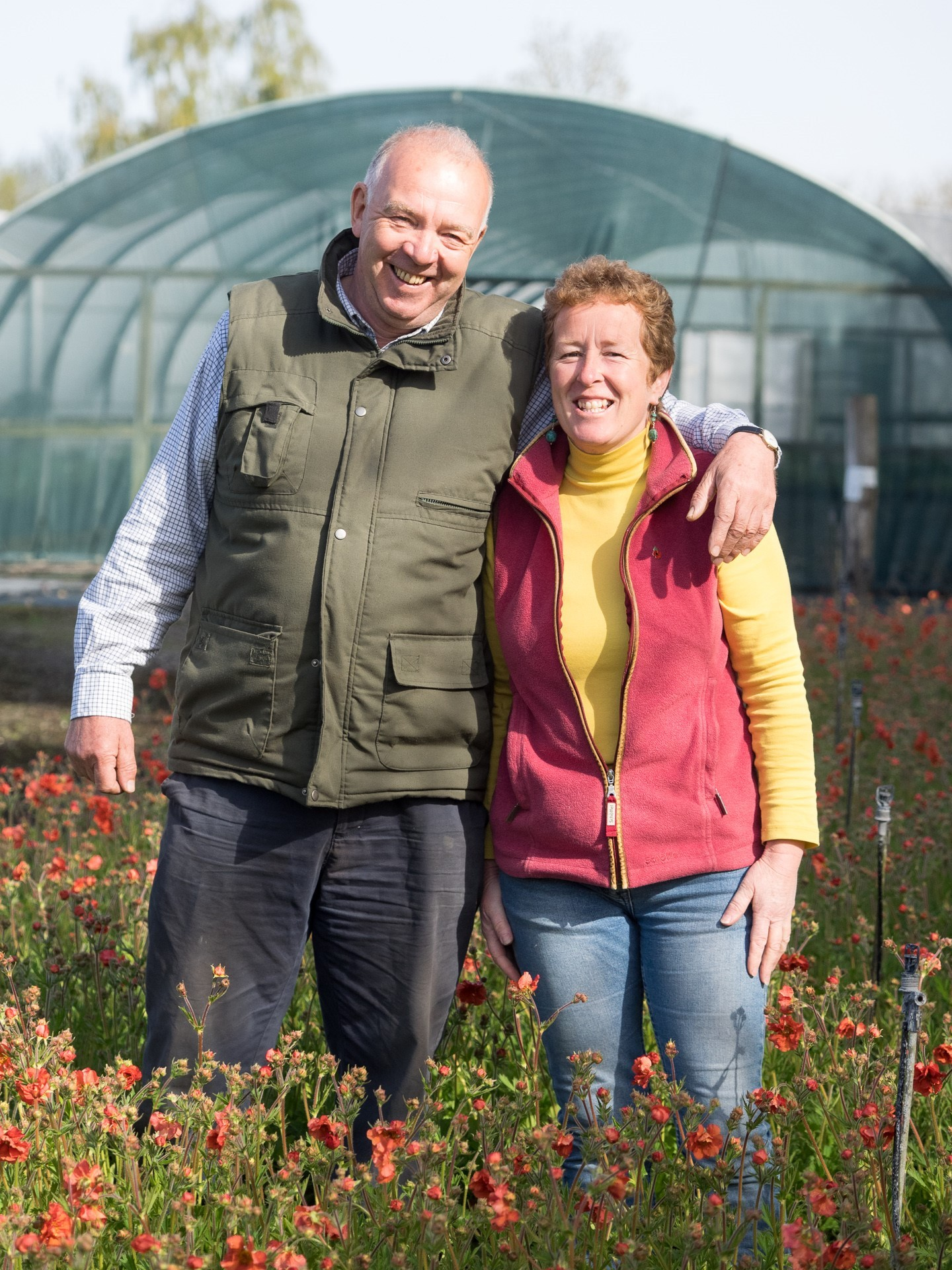 Rob and Rosy Hardy from Hardy's Cottage Plant Nursery