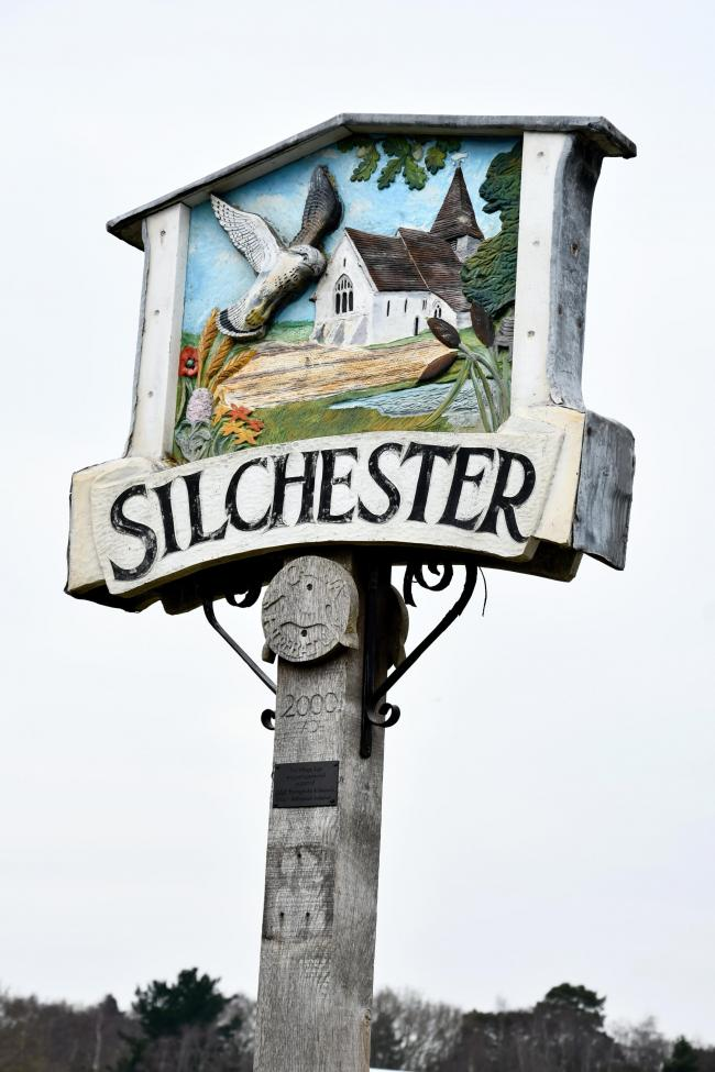 Views of Silchester village...Photograph By: Sean Dillow..www.TheBigCheesePhotography.co.uk.