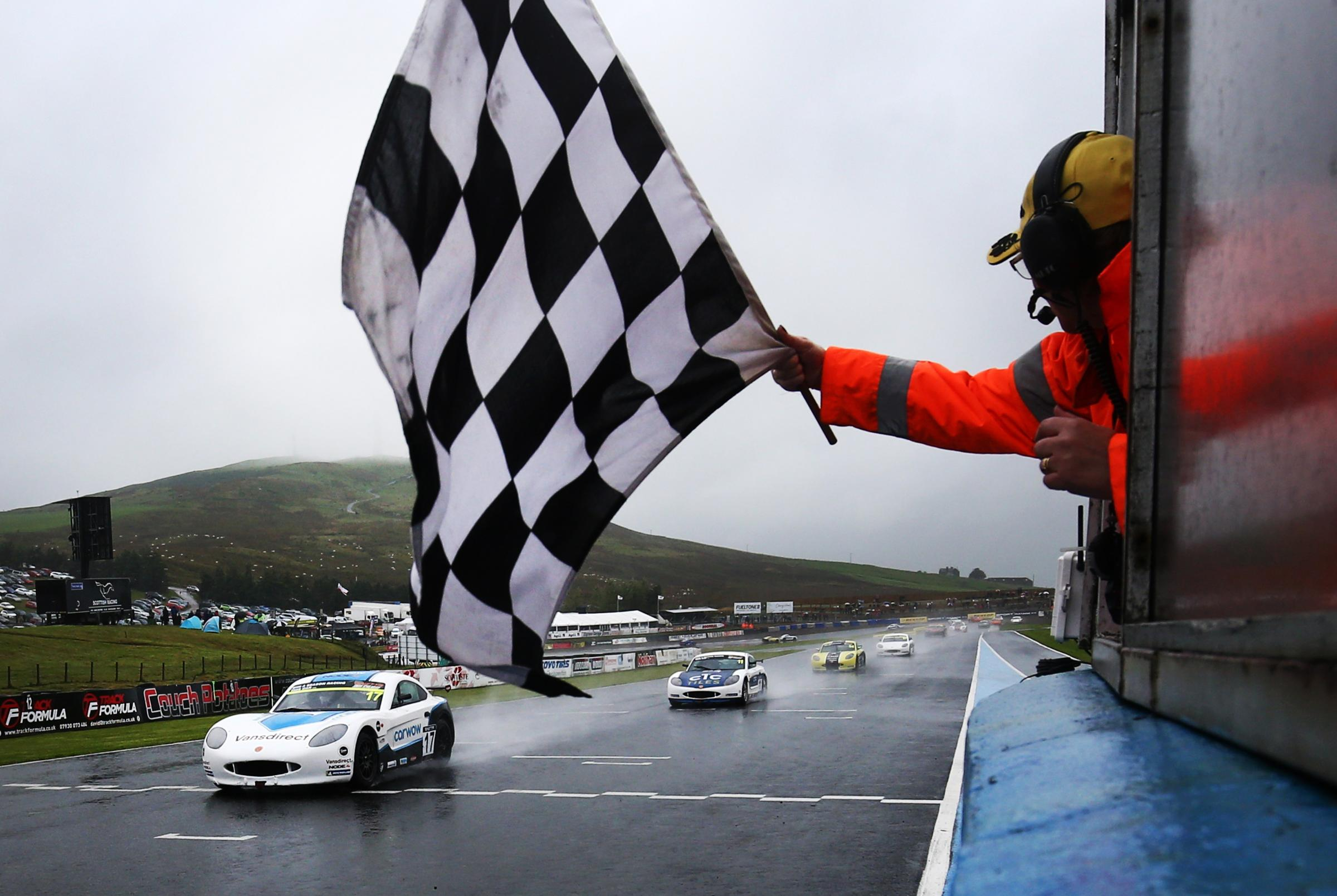 Louis Foster wins at Knockhill Image:James Roberts