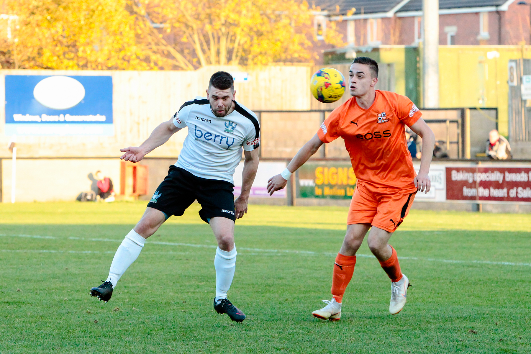 Hartley Wintney in action against Salisbury. Image: John Rose