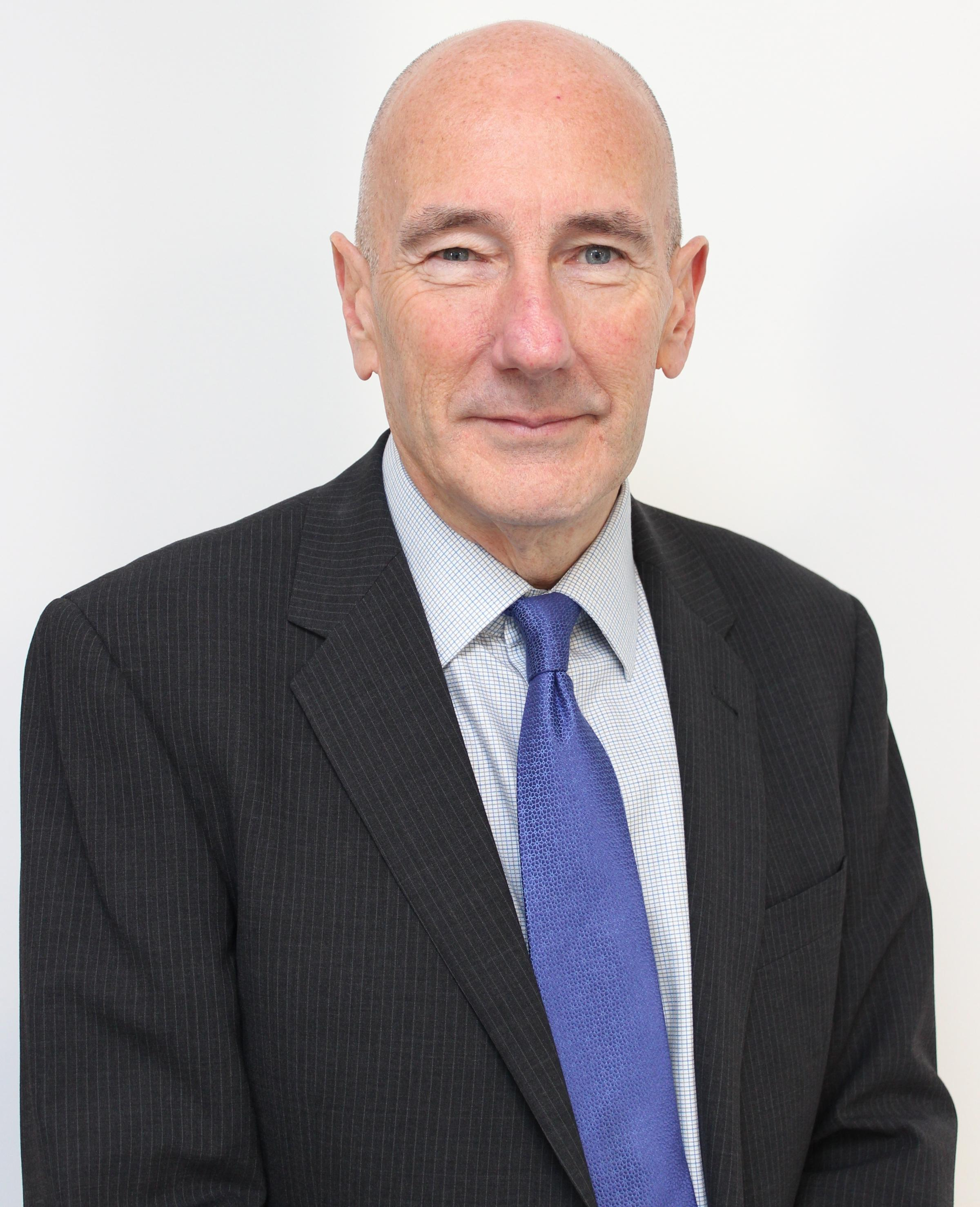 Steve Erskine, the new chair of Hampshire Hospitals NHS Foundation Trust