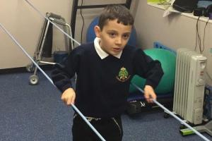 Emotional appeal to ensure boy's life-changing op was not in vain