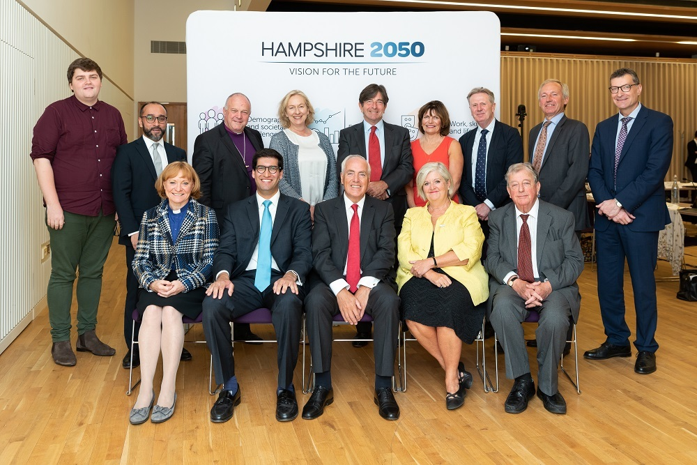 The Hampshire 2050 commissioners