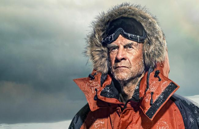 Sir Ranulph Fiennes, image by Gary Salter