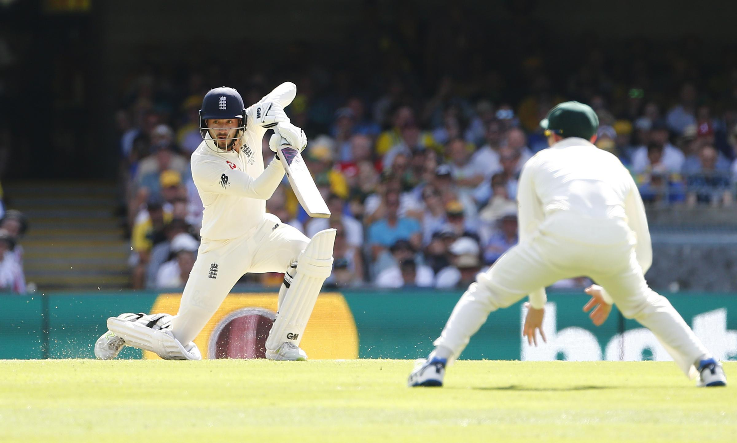 James Vince in action during the last Ashes series