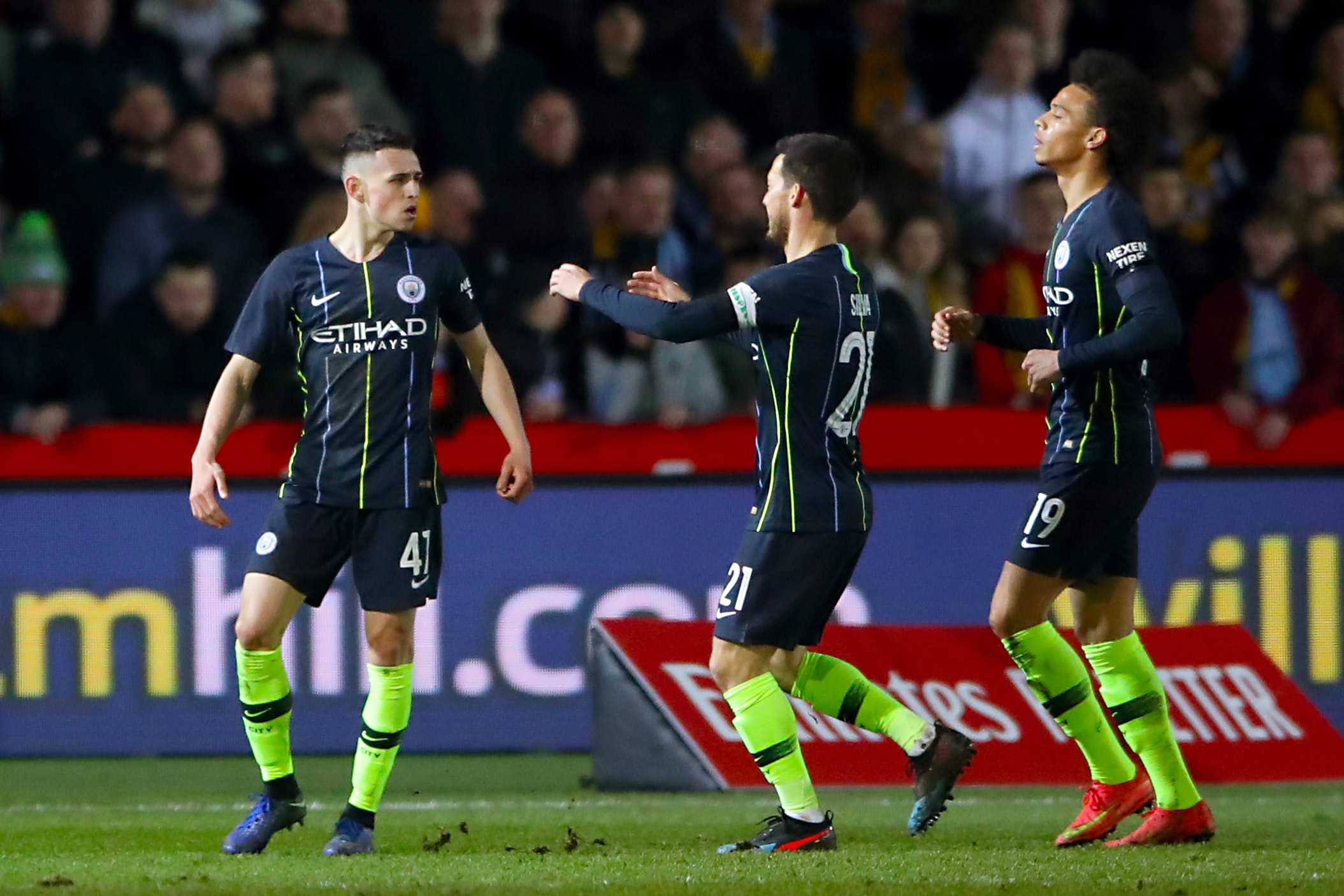 Phil Foden starred in Manchester City's win over Newport