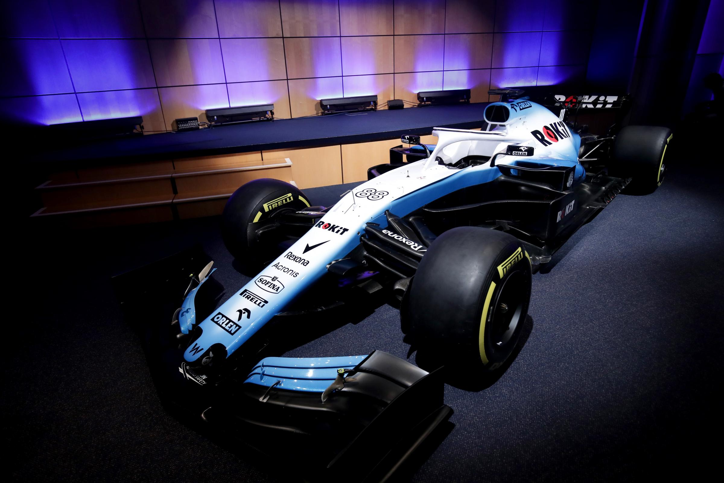 Williams are struggling to get their car on track