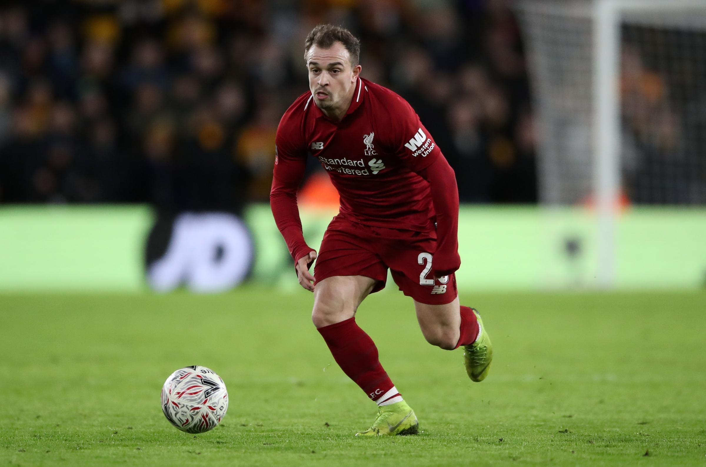 Liverpool's Xherdan Shaqiri is looking forward to the Champions League tie with former club Bayern Munich