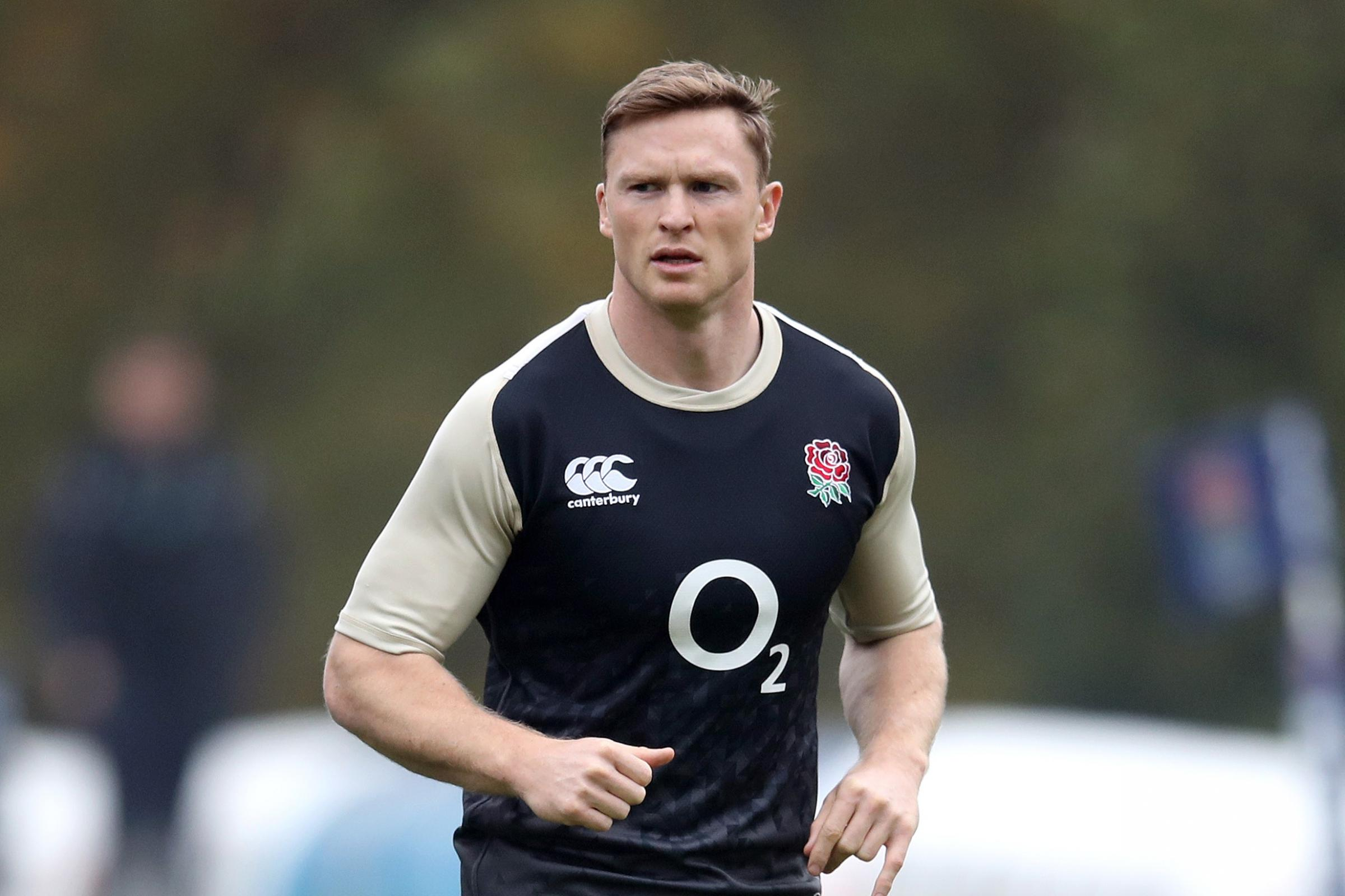 Chris Ashton is struggling with a calf strain
