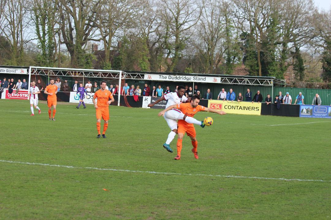 Action from Hartley Wintney against Weymouth Image:Josie Shipman