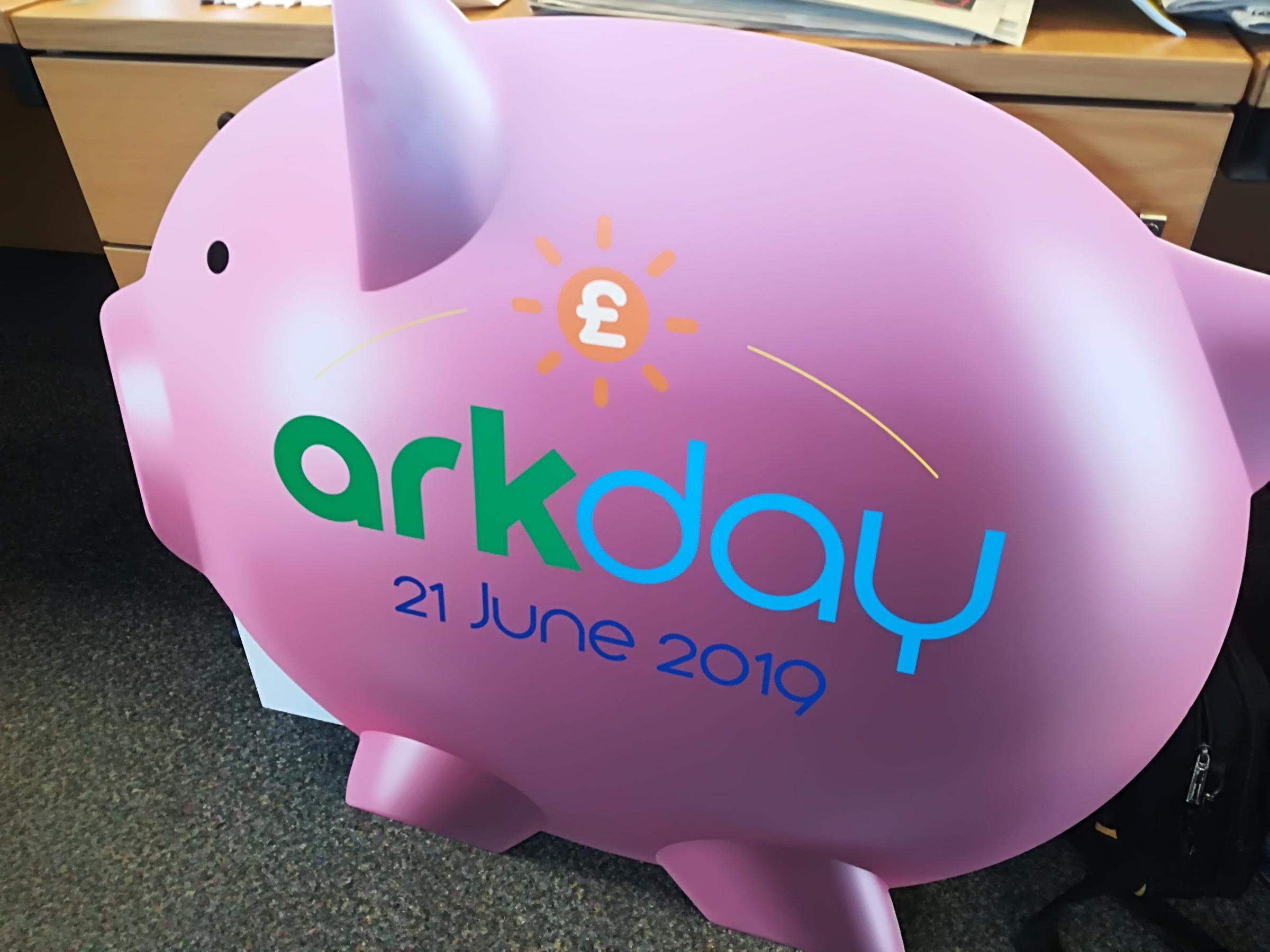 Mascot MoneyPenny for Ark Day stolen | Basingstoke Gazette