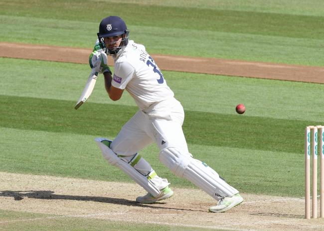 Rilee Rossouw playing for Hampshire in the Specsavers County Championship last season (Photo by Neil Marshall)