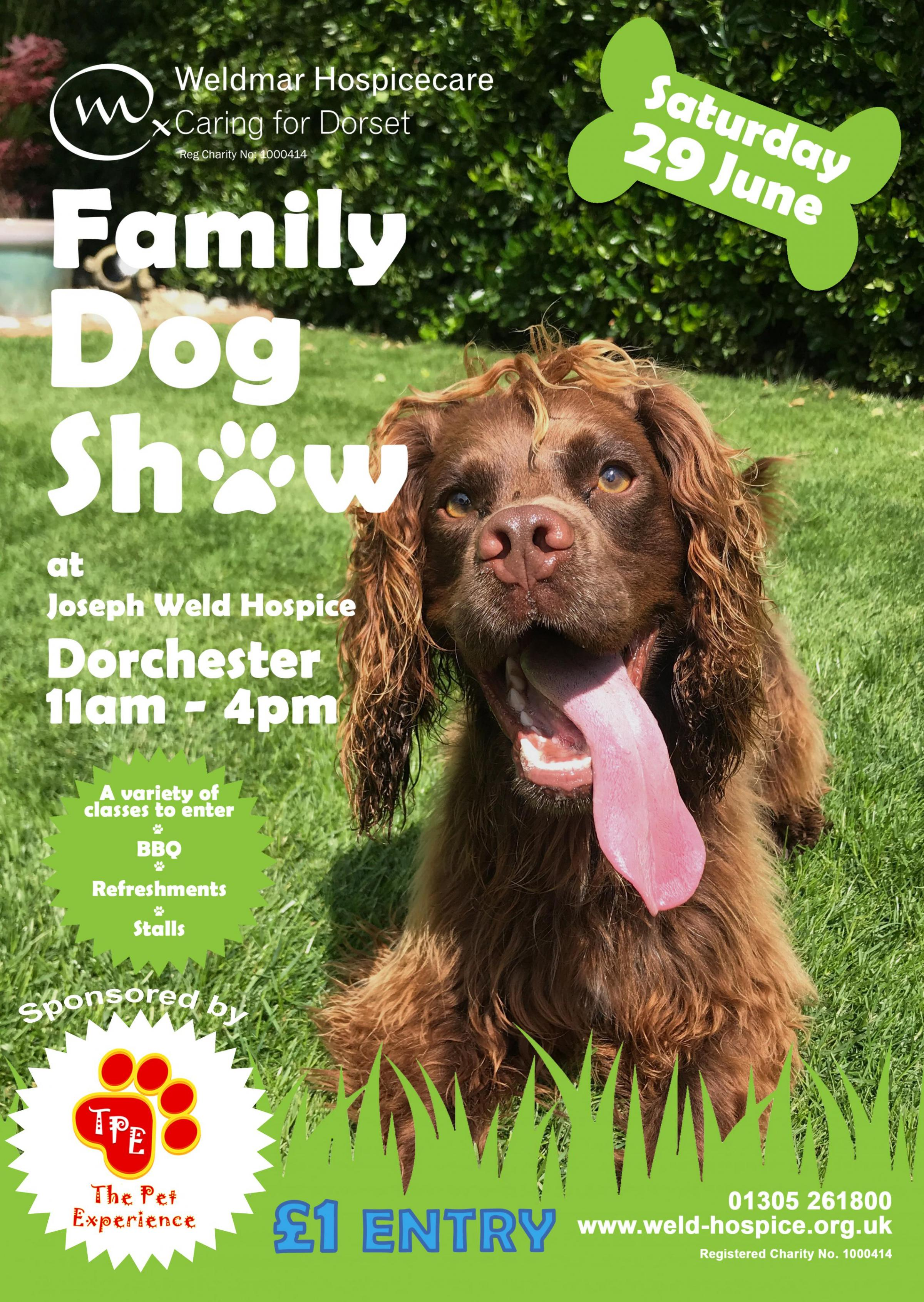 Family Dog Show - In aid of Weldmar Hospicecare