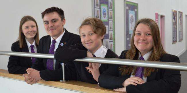 SCHOOLS' NEWS: Farewell from magnificent four from Everest