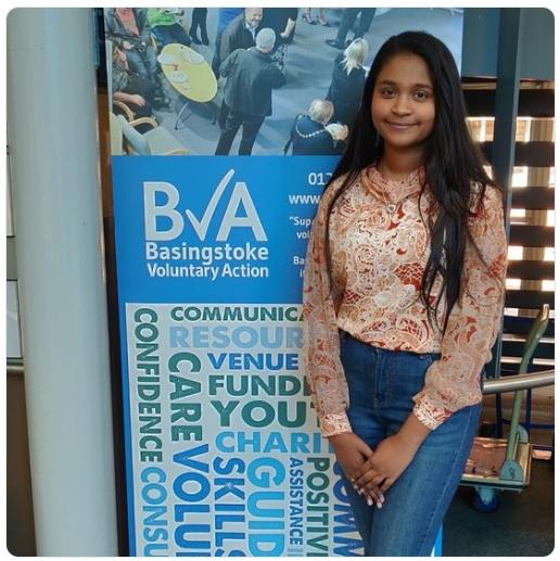 BVA work experience volunteer Rosie