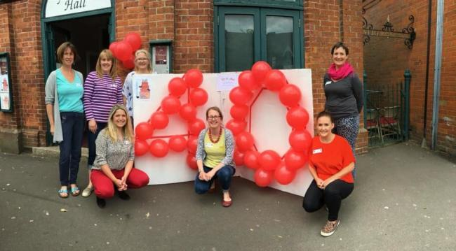 Overton Preschool Playgroup celebrates its 40th birthday party