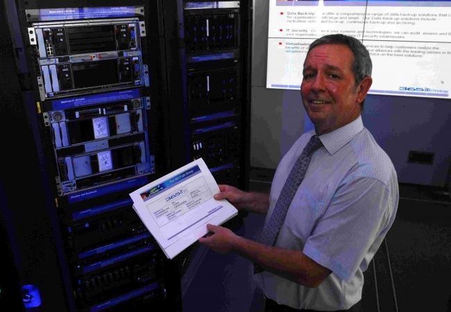 When computers filled huge rooms   Basingstoke Gazette