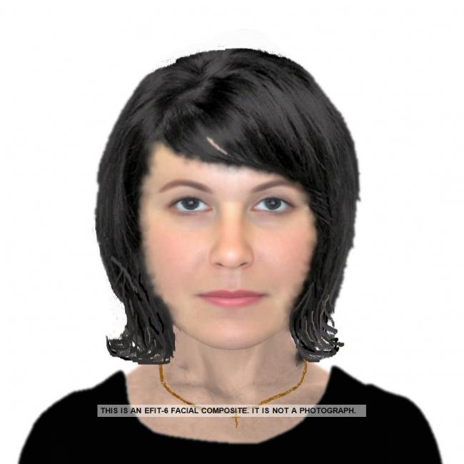 Police have issued an e-fit image of the woman involved